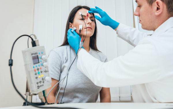 Электромиография лицевых мышц